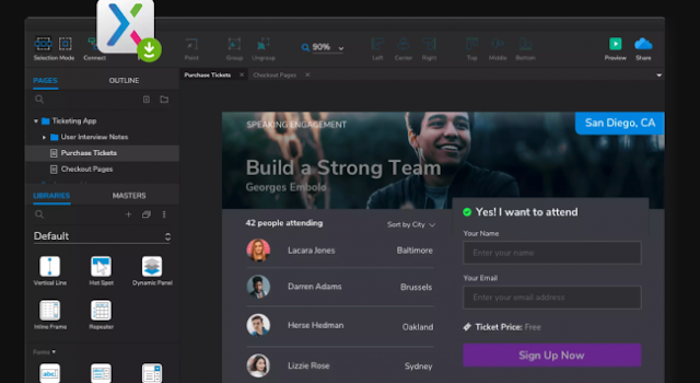 Axure-Design tools to streamline your workflow and boost creativity-Hire A Virtual Assistant