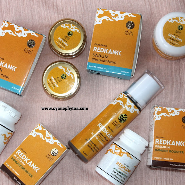 (Sponsored) Review Aggie Tjetje RED KANK Skincare Herbal
