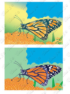 https://www.canstockphoto.ca/monarch-butterfly-set-78310043.html
