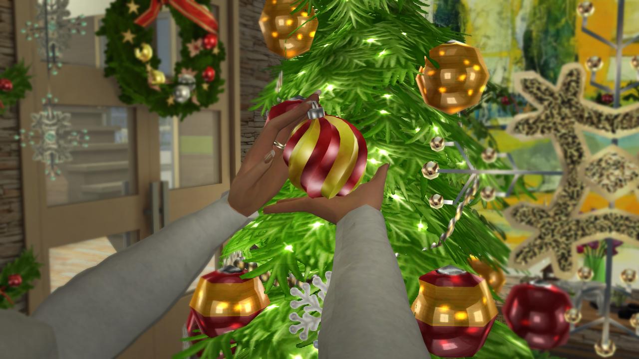 Sims 4 Christmas Poses.Soloriya Christmas Decoration Pose Accessory Sims 4