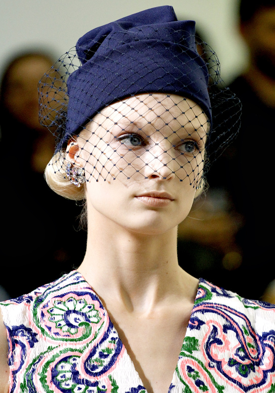 16054ceeb2e Everyone is Wearing  Jil Sander s Veiled Beanie Hat - The Front Row View