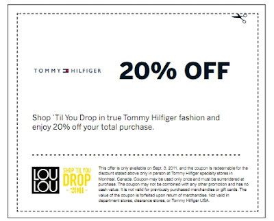 picture regarding Tommy Hilfiger Coupon Printable named Canadian Day-to-day Specials: Tommy Hilfiger Canada: 20% Off