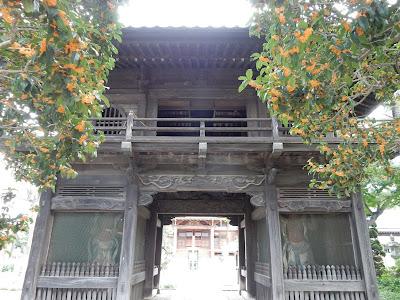 常楽寺鐘楼門(仁王門)
