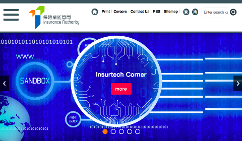 Hong Kong Insurance Authority – InsurTech Corner