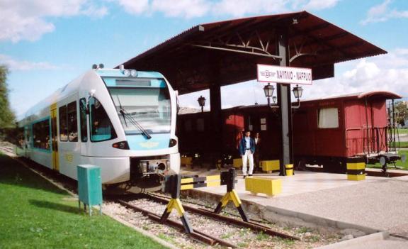 Την Τετάρτη η συναντηση Νίκα - Καραμανλή για την σιδηροδρομική γραμμή Κόρινθος - Ναύπλιο