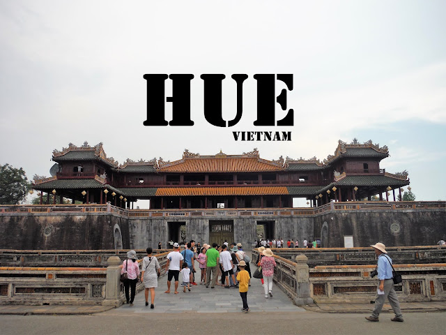imperial city gates hue vietnam