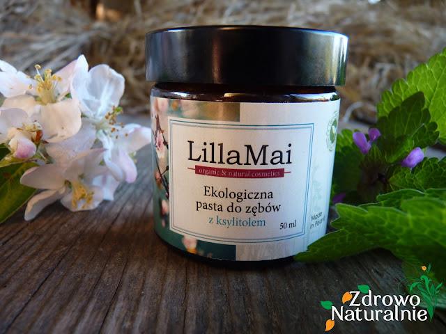 Lilla Mai - Ekologiczna pasta do zębów z ksylitolem
