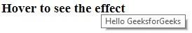 melakukan proses hover pointer yang memberikan perubahan pada laman web