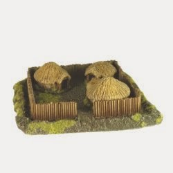 BD219 Celtic Farm with Huts x3.