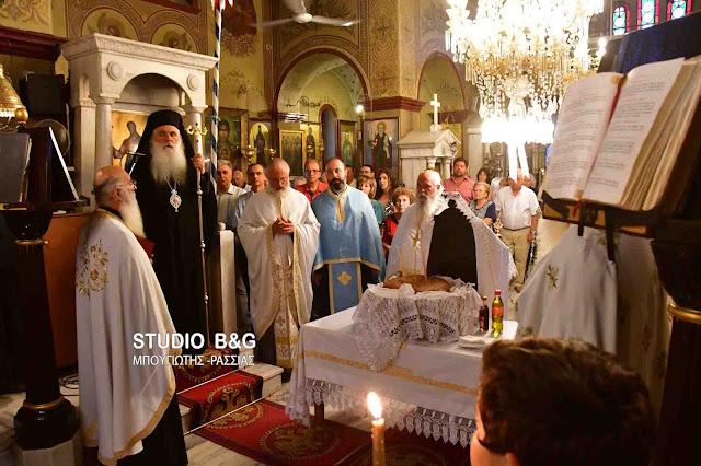 Η Νέα Κίος τίμησε την Παναγία την Τριχερούσα (βίντεο)