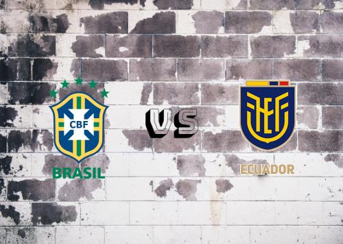 Brasil vs Ecuador  Resumen y Partido Completo