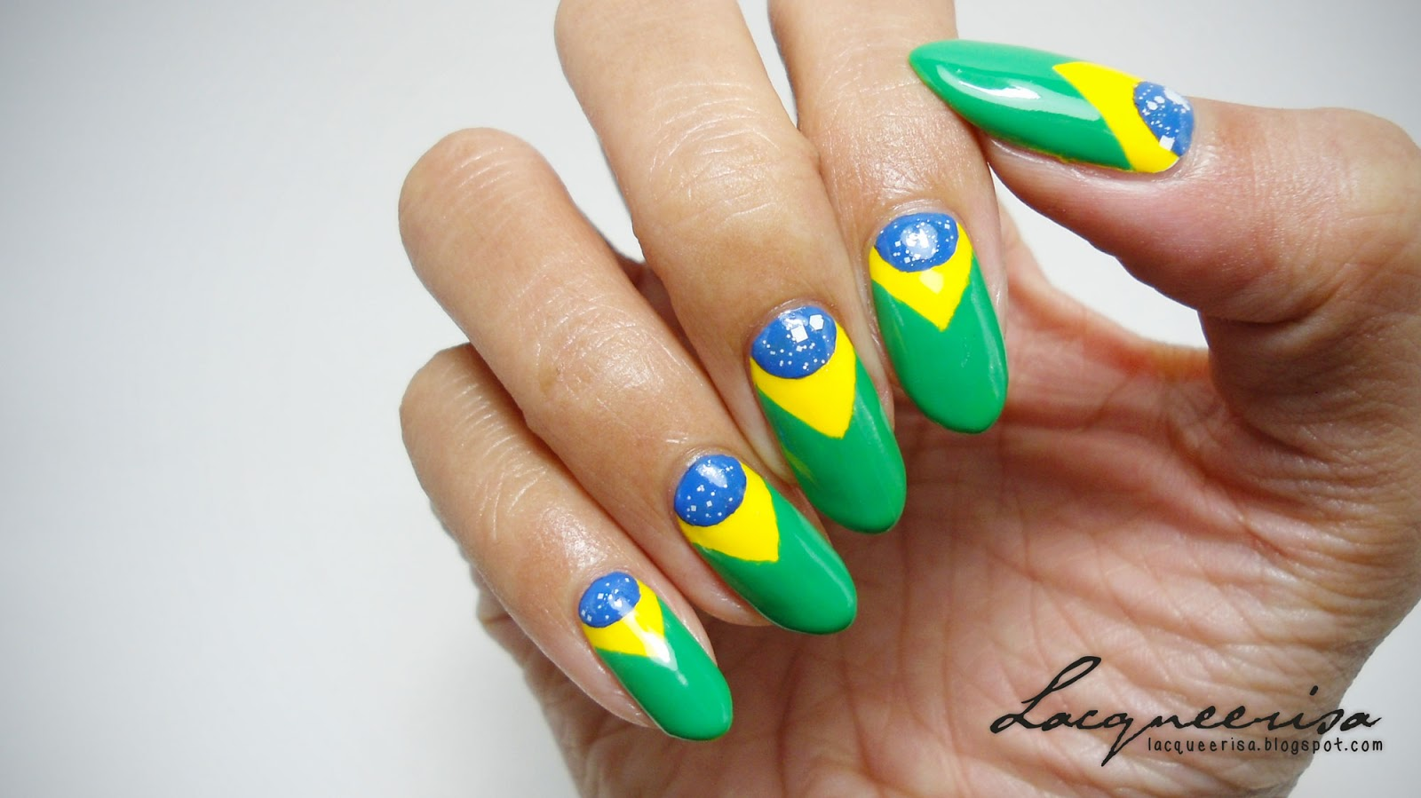 Brasil Nails (1st Semi Final) lacqueerisa.blogspot.com