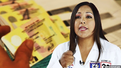 MTC inició proceso para anular el brevete a la congresista Cecilia García