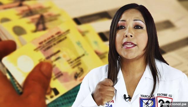 Investigan a congresista Cecilia García por brevete falso pese a estar inhabilitada