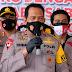 Kapolda Kalsel Pimpin Press Release Pengungkapan Narkotika Oleh Polresta Banjarmasin