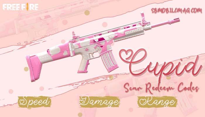 Cupid Scar Redeem Code Free Fire, Free Fire Cupid Scar Redeem Code