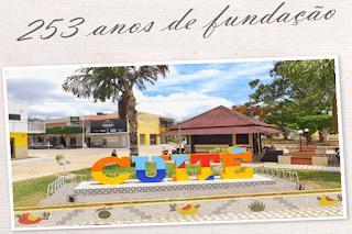 Cuité comemora 253 anos de sua fundação neste sábado (17)