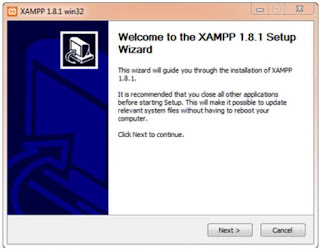 Unduh, install XAMPP