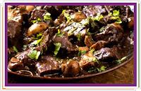 Zajíc s černou omáčkou - Recepty a vaření
