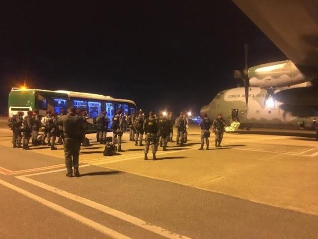 Mais agentes da Força Nacional chegam a Fortaleza
