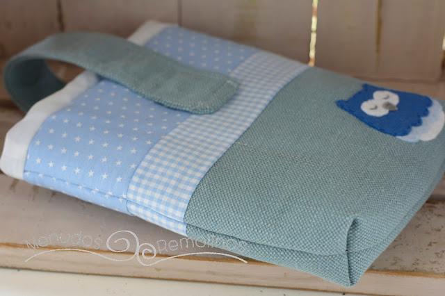 Pañalera Búho dormilón