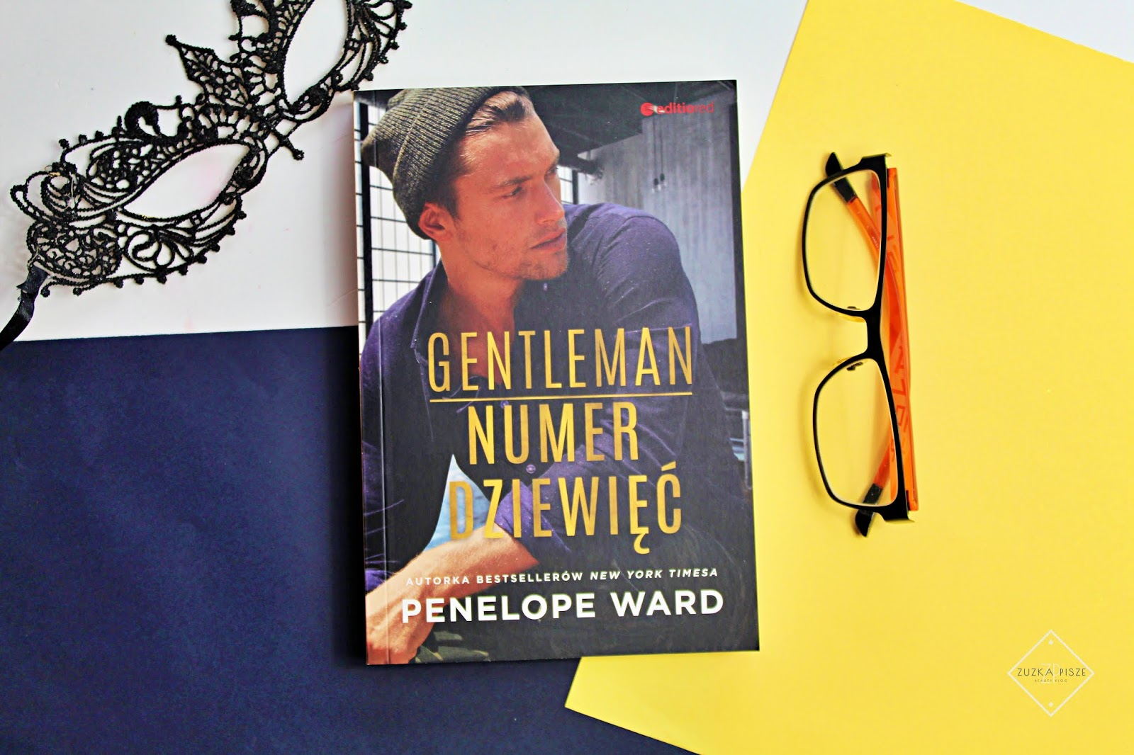"""Penelope Ward """"Gentelman numer dziewięć"""" - recenzja książki"""