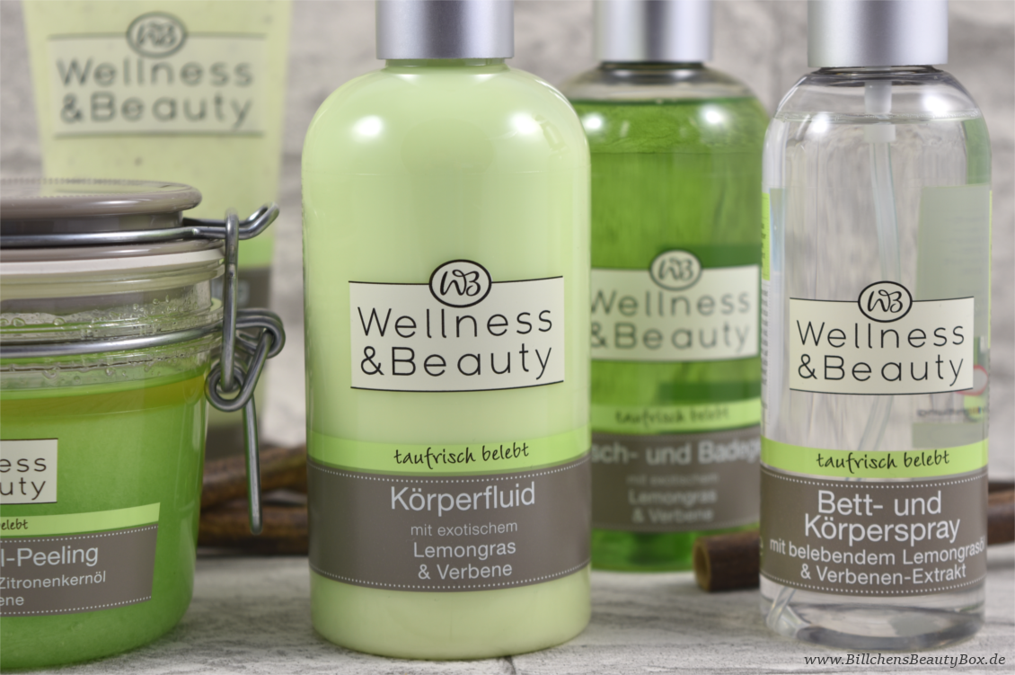 Wellness & Beauty 'taufrisch belebt' Lemongras & Verbene