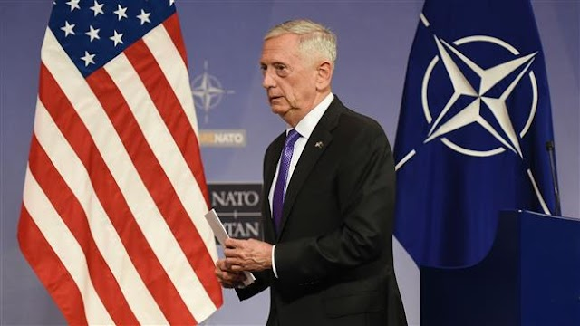 US Secretary of Defense James Mattis blasts Pentagon for buying camouflage useless in Afghanistan