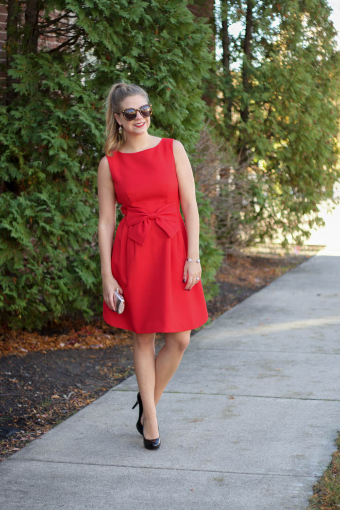 5f21ad31c1 You always hear people talk about a LBD (Little Black Dress) but with  Holiday parties just around the corner, I think everyone needs a LRD  (Little Red ...