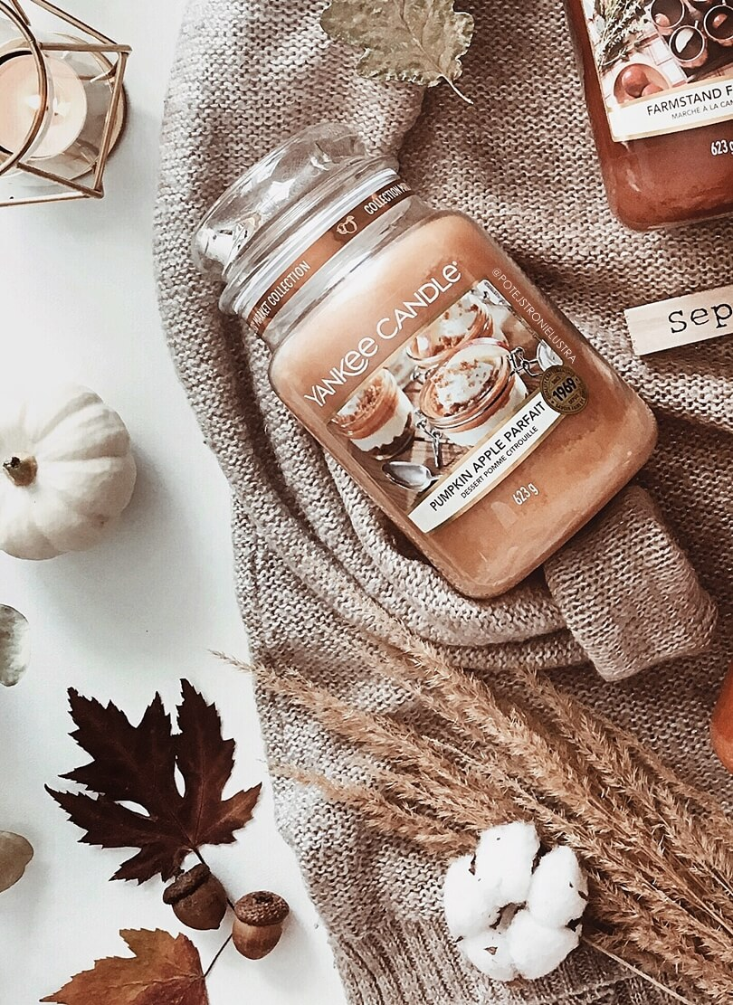 yankee candle pumpkin apple parfait
