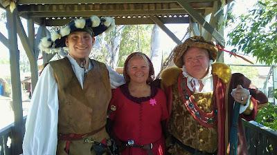 Reenactors at Renaissance Festival