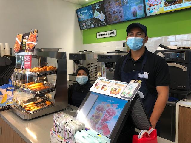 Penang FamilyMart Caltex Raja Uda Open Penang Blogger Influencer