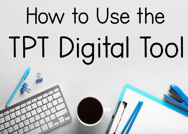 How to make digital PDFS with tpt digital tool