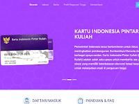 Cara Pendaftaran KIP-Kuliah.kemdikbud.go.id 2020/2021