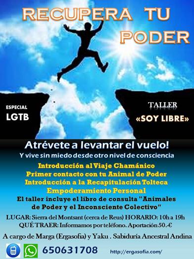 """TALLER """"SOY LIBRE"""" ESPECIAL LGTB -  Cartel%2Bsetembre%2Blgtb"""