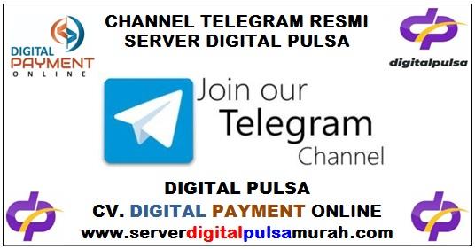 Channel Telegram Resmi Server Digital Pulsa