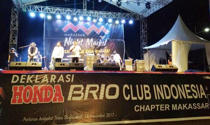 Deklarasi Komunitas HBCI Chapter Makassar Berlangsung Meriah