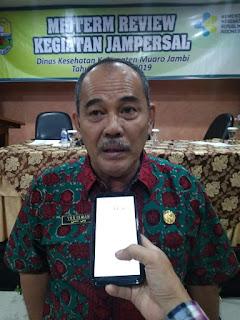 Plt Kadinkes Kabupaten Muaro Jambi Secara Resmi Membuka Midterm Review Kegiatan Jampersal.