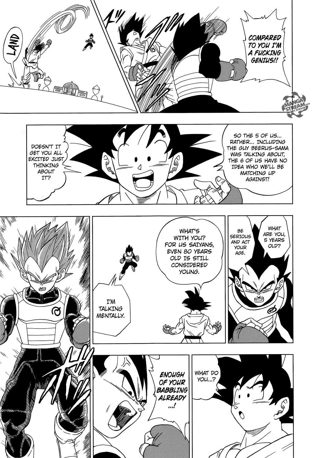 Dragon Ball Super Chapter 7