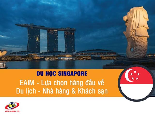 Du học Singapore: Học bổng $4.800 trường EAIM (EASB) – Hàng đầu về Du lịch, Nhà hàng & Khách sạn