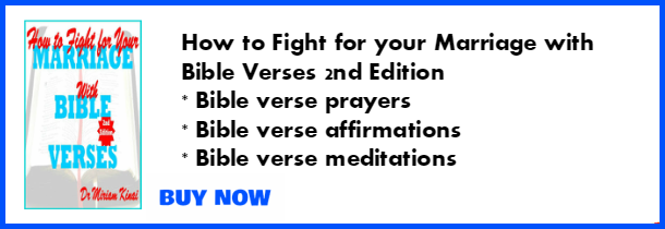 How to fight for your marraige with Bible verses