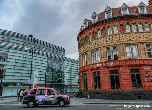 Táxi em Liverpool