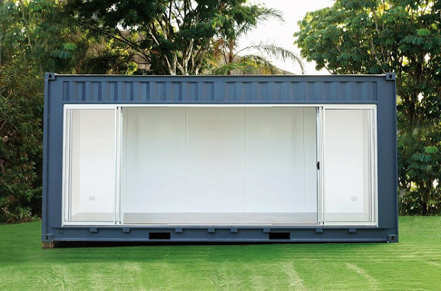 20 foot Shipping Container Outdoor Room by Royal Wolf 5