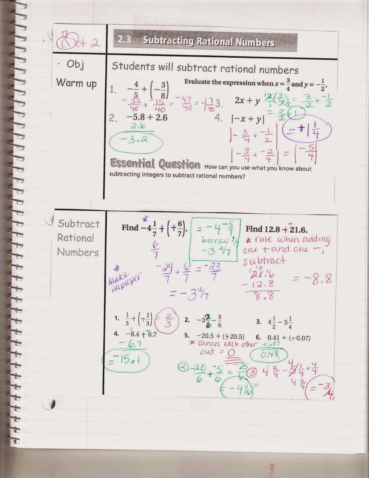 Ms Jean S Classroom Blog Math 7 2 3 Subtracting