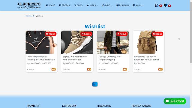 Aplikasi Web Toko Online Professional 1