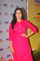 Sree Mukhi in Pink Kurti looks beautiful at Meet and Greet Session at Max Store.JPG