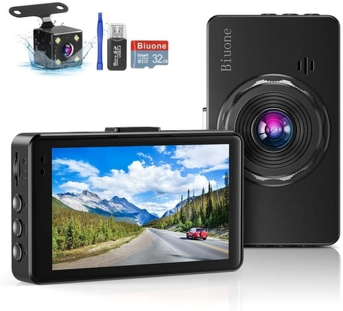 Review Biuone FHD Dash Camera for Cars