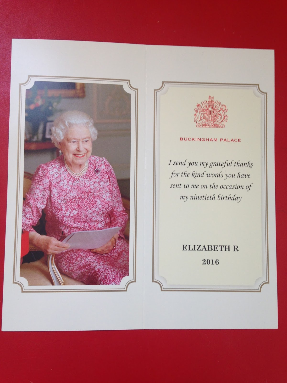 St Georges Preschool Blog The Queens Th Birthday - Childrens birthday cards for the queen