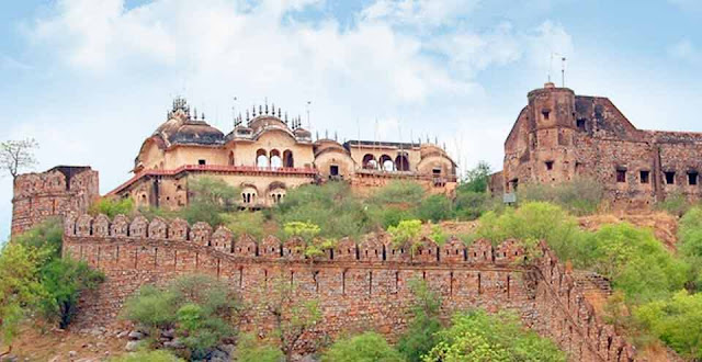 Bala Quila Alwar Fort Tourist Attraction Alwar Rajasthan