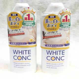 review sữa tắm white conc webtretho